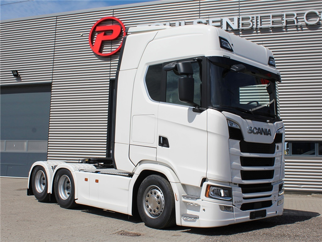 Scania S520 3150mm Boogie